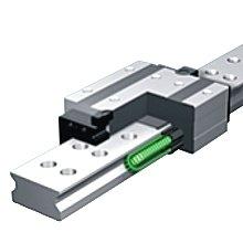 Prowadnice wałeczkowe z łańcuchem Caged Roll typ SRW